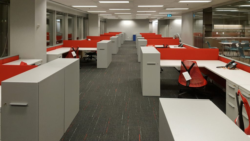 Herman Miller Canvas Office Landscape office furniture by Workspace Group (WSG)
