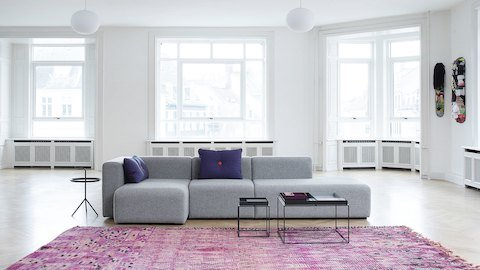 Lounge furniture by Hay, available at Workspace Group WSG)